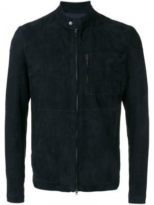 Куртка бомбер Daino Salvatore Santoro. Цвет: синий