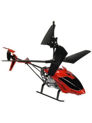 Вертолет на радиоуправлении Снайпер с пистолетом Красный ВластелиНебес. Цвет: красный