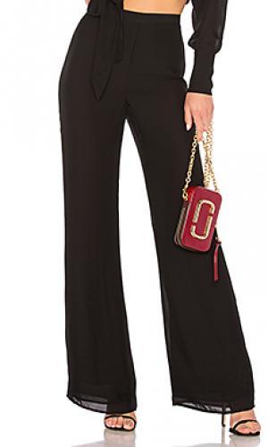 Широкие брюки pant 88 LPA. Цвет: черный