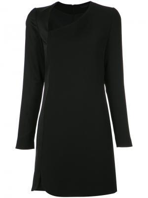 Long sleeves dress Giuliana Romanno. Цвет: чёрный
