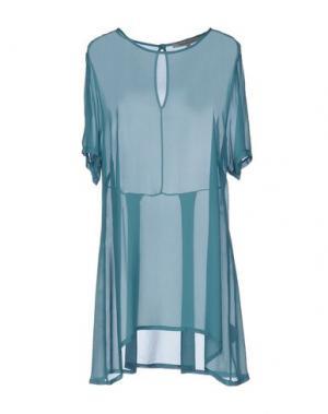 Блузка LA FEE MARABOUTEE. Цвет: зеленый