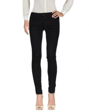 Повседневные брюки KAOS JEANS. Цвет: черный