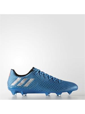 Футбольные бутсы (мяг.покр.) муж. MESSI 16.1 FG Adidas. Цвет: синий
