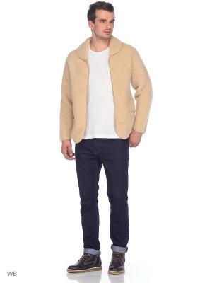 Куртка ALWERO. Цвет: бежевый