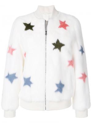 Куртка Irvin J Star Simonetta Ravizza. Цвет: белый