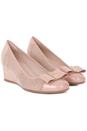 Туфли Donna Serena. Цвет: розовый