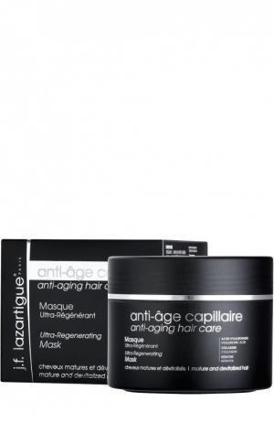Антивозрастная ультрарегенерирующая маска для волос J.F. Lazartigue. Цвет: бесцветный