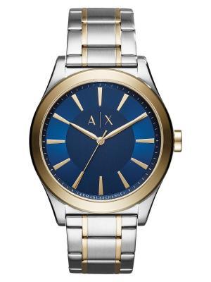Часы Armani Exchange. Цвет: синий, золотистый, серебристый