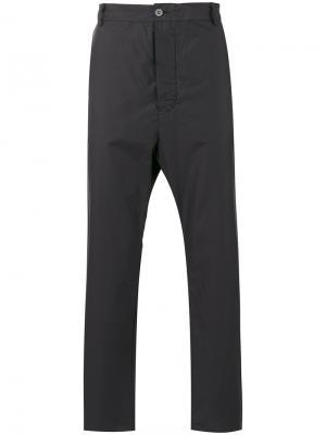Легкие брюки Manuel Marte. Цвет: чёрный