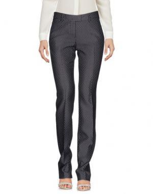 Повседневные брюки TRUE ROYAL. Цвет: серый