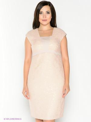 Платье Amelia Lux. Цвет: розовый