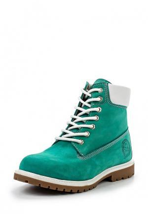 Ботинки Dino Ricci. Цвет: бирюзовый