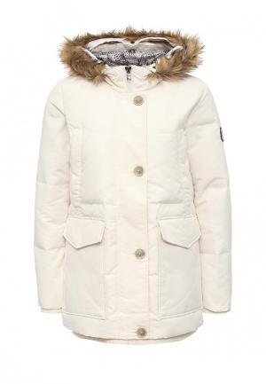 Куртка утепленная Featuring. Цвет: белый