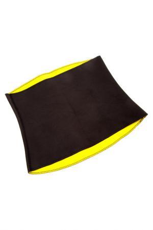 Пояс для похудения NO NAME. Цвет: желтый