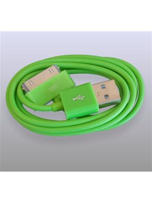 Usb кабель Pro Legend Iphone 4, 30 pin, 1м, зеленый. Цвет: зеленый