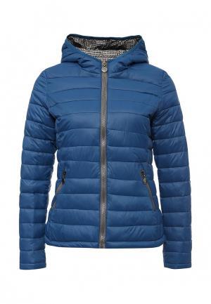 Куртка утепленная Z-Design. Цвет: разноцветный