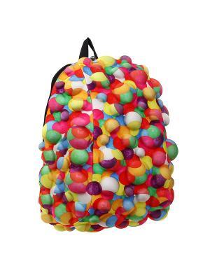 Рюкзак MadPax. Цвет: красный, желтый, зеленый