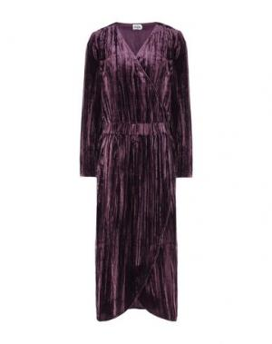 Платье длиной 3/4 TWIST & TANGO. Цвет: баклажанный
