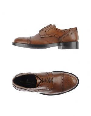 Обувь на шнурках BORGO MEDICEO. Цвет: коричневый