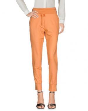 Повседневные брюки MET & FRIENDS. Цвет: оранжевый