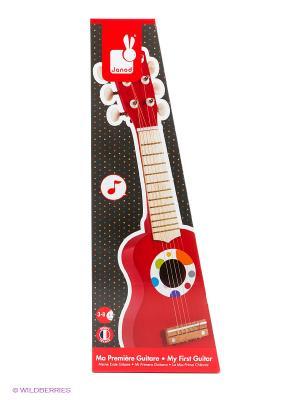 Гитара Janod. Цвет: красный