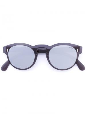 Солнцезащитные очки с круглой оправой Retrosuperfuture. Цвет: чёрный