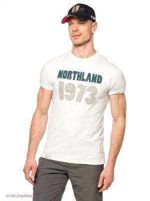 Футболка M LAUREENO Northland Professional. Цвет: белый, темно-синий, серый меланж