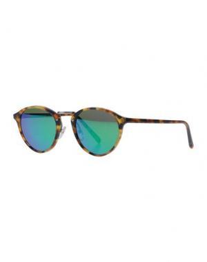 Солнечные очки SPEKTRE. Цвет: коричневый