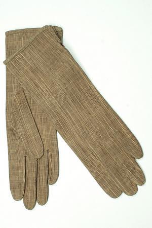 Перчатки Dali Exclusive. Цвет: бежевый, светло-коричневый