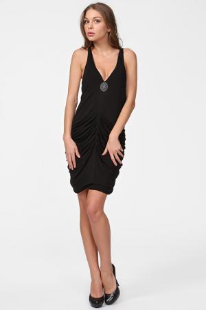 Платье Faith. Цвет: черный