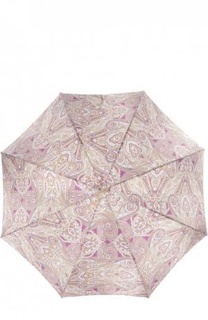 Зонт Pasotti Ombrelli. Цвет: фиолетовый