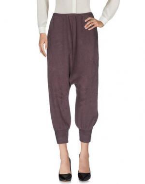 Повседневные брюки IF SIX WAS NINE. Цвет: свинцово-серый