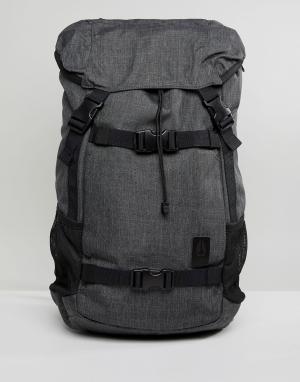 Nixon Серый рюкзак Landlock SE II. Цвет: серый