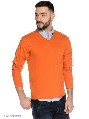 Пуловер Mavango. Цвет: оранжевый