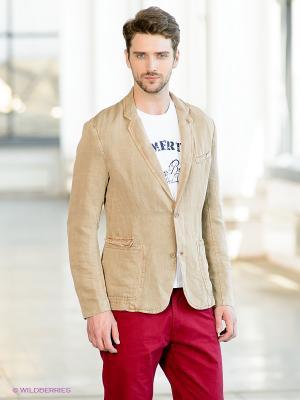 Пиджак TOM FARR. Цвет: светло-коричневый