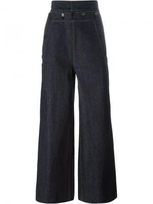 Широкие джинсы Juun.J. Цвет: синий