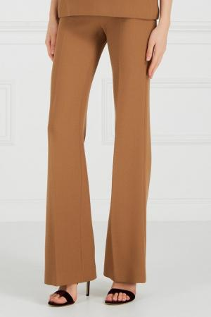 Широкие брюки со стрелками Chapurin. Цвет: горчичный