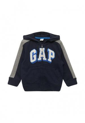 Толстовка Gap. Цвет: синий