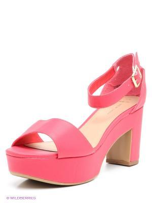 Босоножки New Look. Цвет: розовый