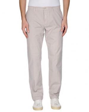 Повседневные брюки BROOKSFIELD. Цвет: голубиный серый