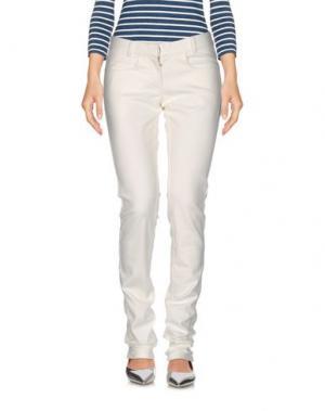 Джинсовые брюки SILENT DAMIR DOMA. Цвет: белый