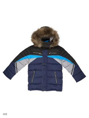 Куртка для мальчика Слалом Пралеска. Цвет: голубой