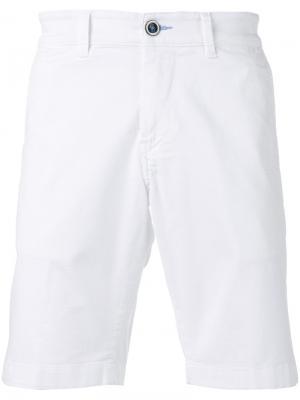 Джинсовые шорты Re-Hash. Цвет: белый