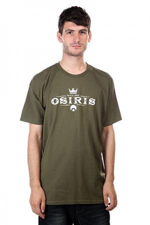 Футболка  Tee Army Osiris. Цвет: зеленый