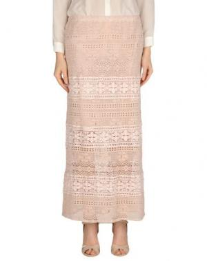 Длинная юбка TEMPTATION. Цвет: светло-розовый