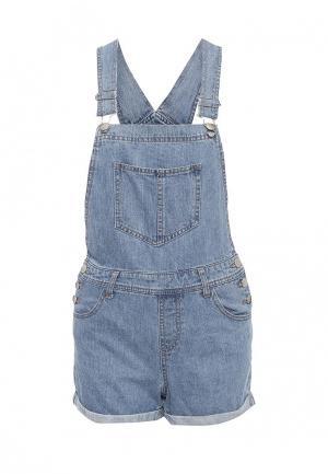 Комбинезон джинсовый Dorothy Perkins. Цвет: голубой