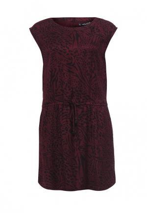 Платье Volcom. Цвет: бордовый