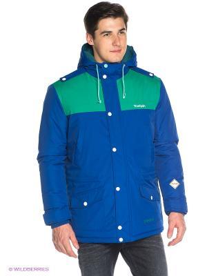 Куртка True Spin. Цвет: синий, зеленый