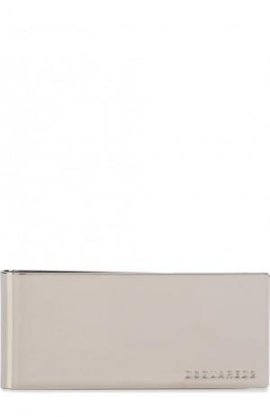 Металлический зажим для купюр с логотипом бренда Dsquared2. Цвет: серебряный