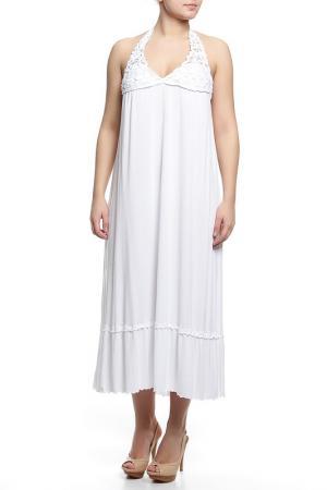 Платье Cotton Club Mare. Цвет: белый